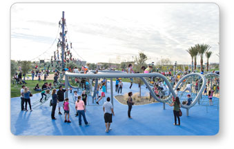 Playground Equipment at Riverview Park - Mesa, AZ